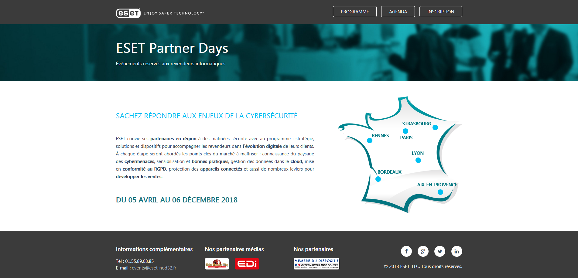 ESET Partner Days à Paris 2018