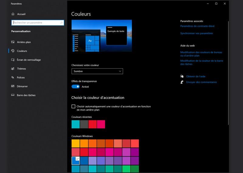 Nouveautés des dernières mises à jour de Windows 10
