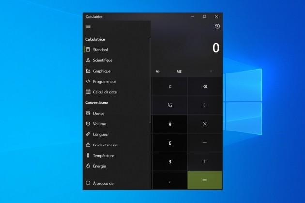 Cinq fonctions avancées et très utiles de la calculatrice de Windows 10